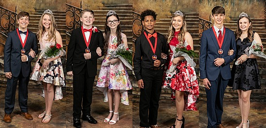 2020 Bonifay Middle School Valentines Court