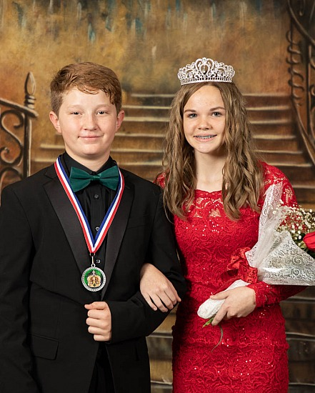 2021 Bonifay Middle School Valentine's Court